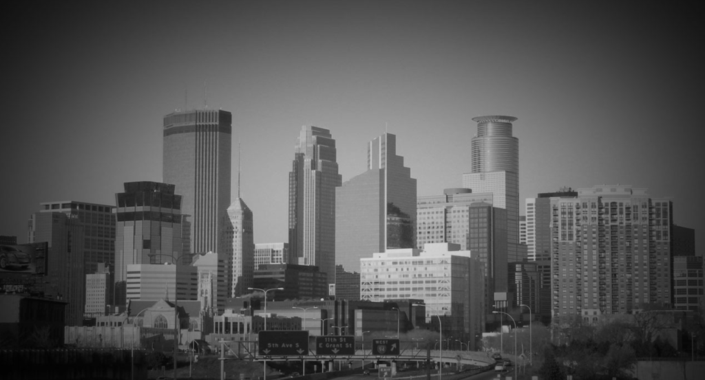 minneapolis-cityscape-bw